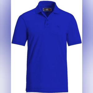 Loudmouth | blue polo | NWT | small
